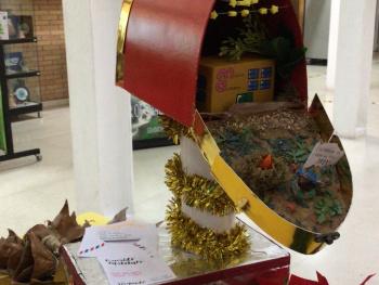 Concurso de Adornos Navideños con materiales reciclados