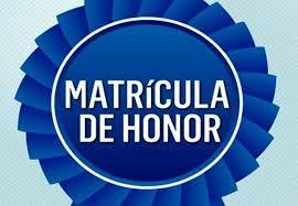 Matrículas de Honor Curso 20/21
