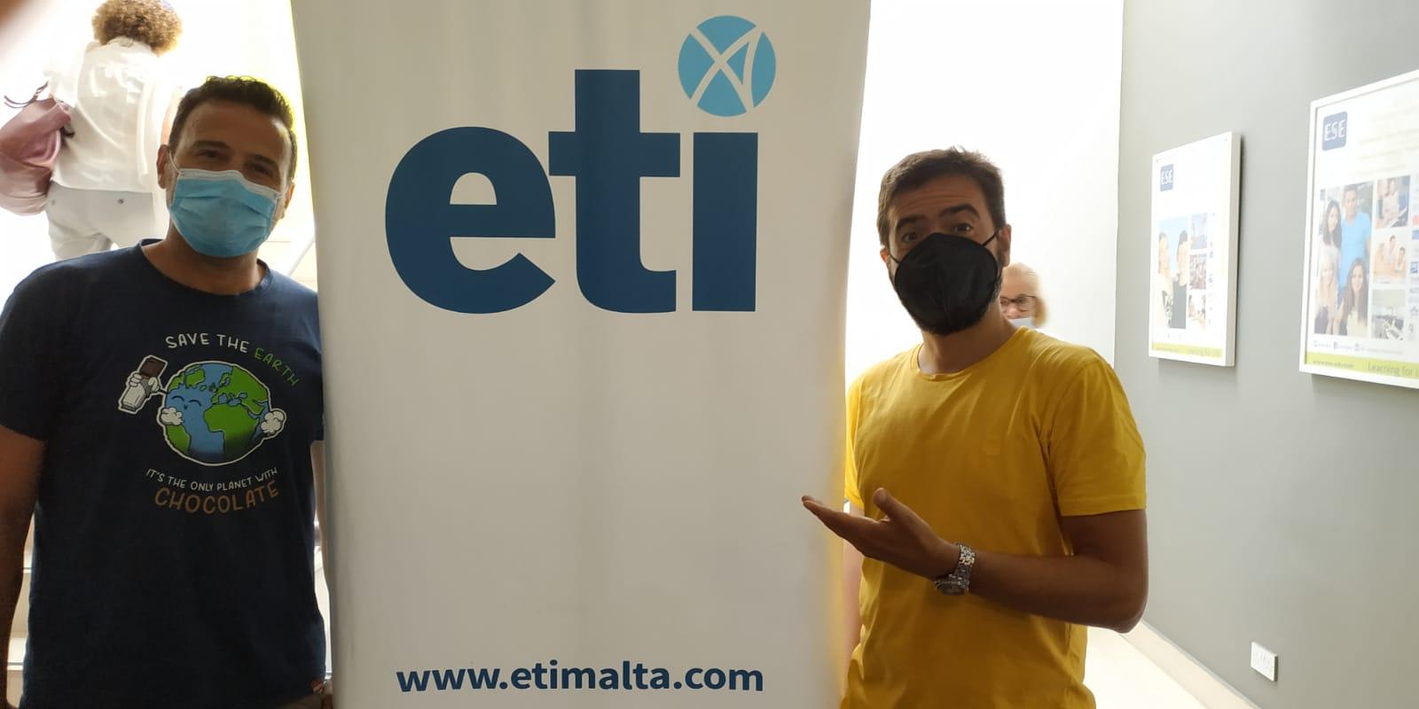 Nuestro profesorado formándose en Malta